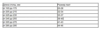 Ласты укороченные тренировочные (резина) Larsen FT01, размер S (38-41EU)