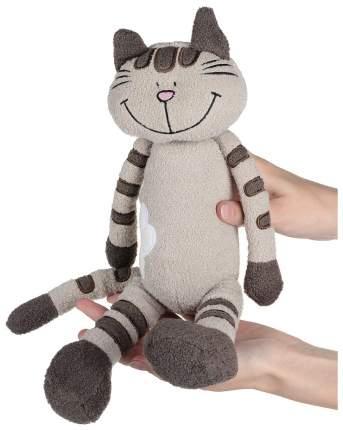 Мягкая игрушка MAXITOYS MT-MRT031323-33 Кот Полосатик с Цветочком 33 см