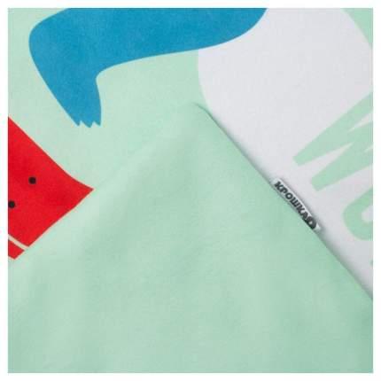 "Плед ""Крошка Я"" Hello, Dino, 70х80 см, зеленый Крошка Я"