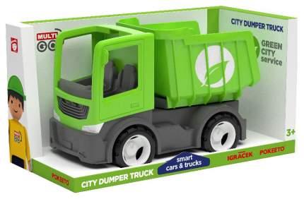 Городской грузовик самосвал