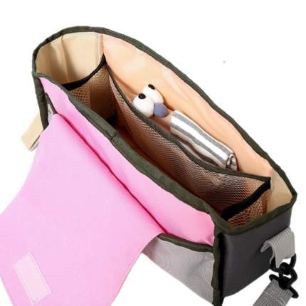 Органайзер на коляску Happy Mom розовый