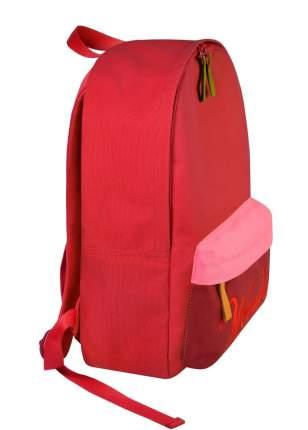 Рюкзак /WOODSURF/ EXPRESS Academy, коллекция ON THE WAY, канвас, микс красный