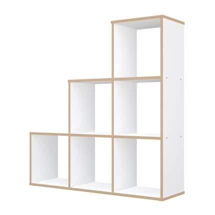 Стеллаж Polini 0002102.9 103,7х29х106,9 см, белый