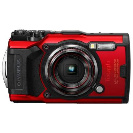 Фотоаппарат цифровой компактный Olympus Tough TG-6 Red