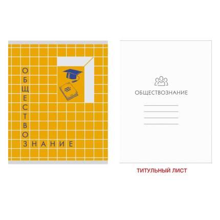 Тетрадь Unnika Land предметная Scrabble А5 48л обществознание ТТМ486919