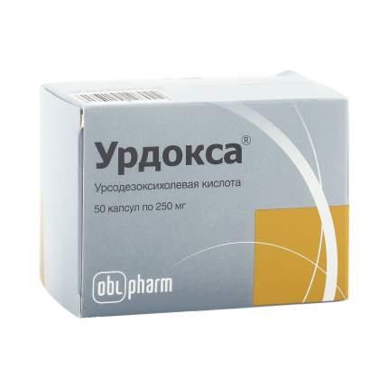 Урдокса капсулы 250 мг 50 шт.