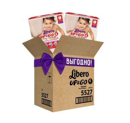 Подгузники-трусики Libero UP&GO XL 13-20 кг гига упаковка 2*62 шт.