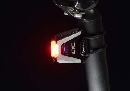 Велосипедный фонарь задний Moon LX-70 USB черный
