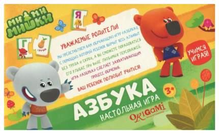 Дидактическая игра Origami МиМиМишки Азбука 03526
