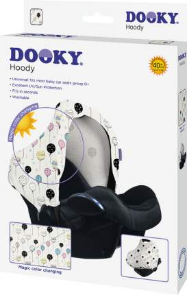 Xplorys капюшон для автокресла dooky hoody цв.magic colour changing balloons