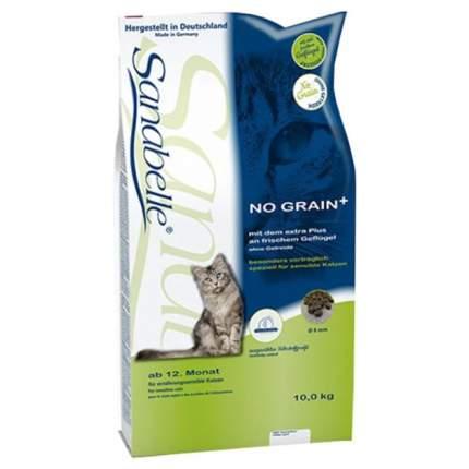 Сухой корм для кошек Bosch Sanabelle No Grain, беззерновой, домашняя птица, 10кг