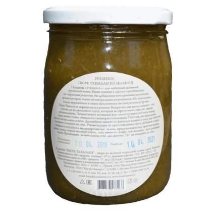 Пюре Permeris из зеленой сливы без сахара 500 г