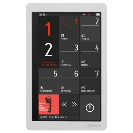 Портативный медиаплеер премиум Cowon X9 32Gb White