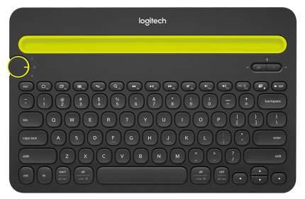 Беспроводная клавиатура Logitech K480(920-006368) Yellow/Black (920-006368)