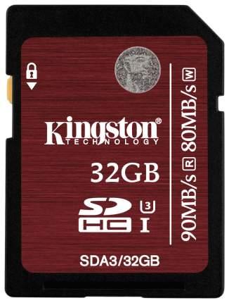Карта памяти Kingston SDHC SDA3 32GB