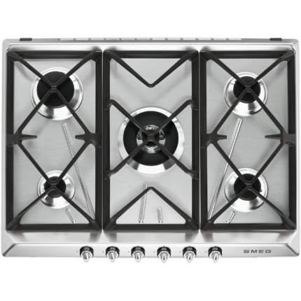Встраиваемая варочная панель газовая Smeg SR975XGH Silver