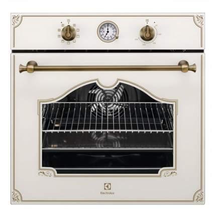 Встраиваемый электрический духовой шкаф Electrolux OPEB2520V Beige