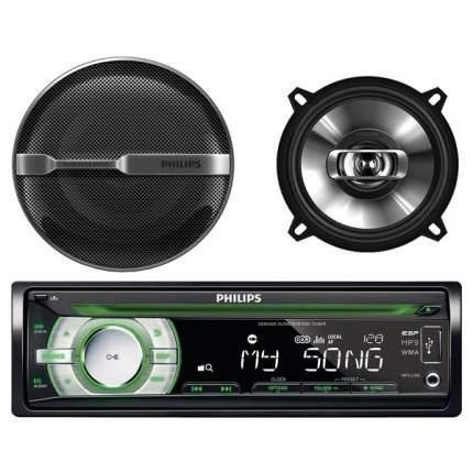 Комплект автомобильной акустики Philips CEM2000/51+CSP510/51