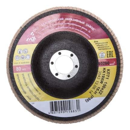 Диск лепестковый для угловых шлифмашин БАЗ 36563-150-80