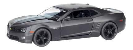 Машина металлическая Uni-Fortune 1:32 Chevrolet Camaro инерционная серый матовый