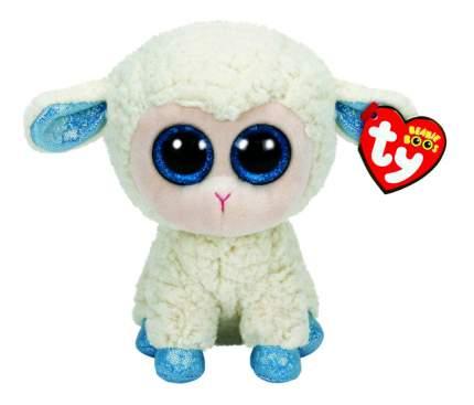 Мягкая игрушка TY Beanie Boos Овечка (белая с голубыми копытцами) 15 см