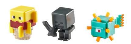 Игровой набор Minecraft Набор из 3х фигурок персонажей minecraft CGX24 CKH41