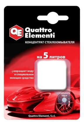 Концентрат жидкости для стеклоомывателя Quattro Elementi На 5 литров 244-407