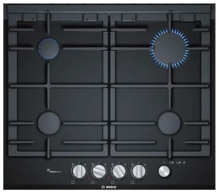Встраиваемая варочная панель газовая Bosch PRP6A6N70R Black