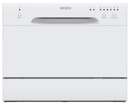 Посудомоечная машина компактная Ginzzu DC261 white