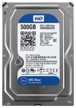 Внутренний жесткий диск Western Digital Blue 500GB (WD5000AZRZ)