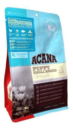 Сухой корм для щенков ACANA Heritage Puppy Small Breed, для мелких пород, цыпленок, 0,34кг
