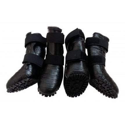 Обувь для собак 4Runner размер XL, 4 шт черный