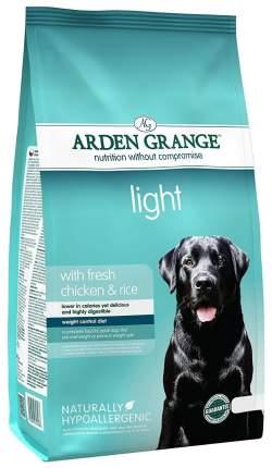 Сухой корм для собак Arden Grange Light, курица,  12кг