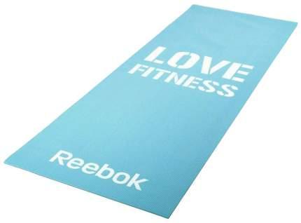 Коврик для фитнеса Reebok RAMT-11024BLL голубой 4 мм