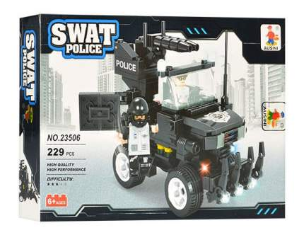 Конструктор пластиковый Ausini Полиция SWAT