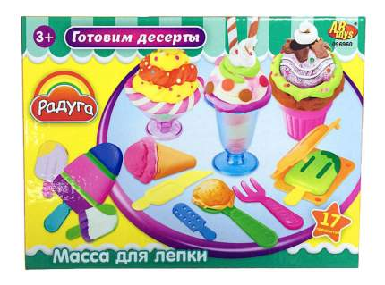 Набор для лепки из пластилина ABtoys Готовим десерты
