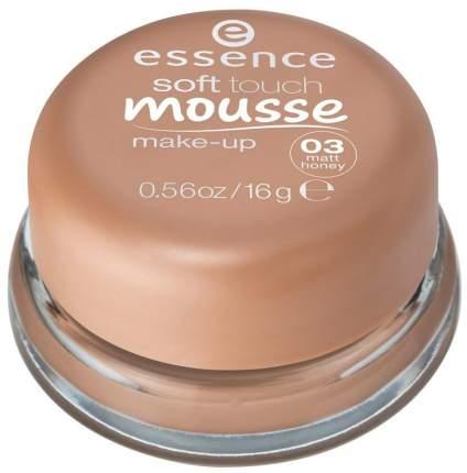 Тональный крем essence Soft Touch Mousse Make-up 03 Matt Honey 16 г