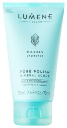 Скраб для лица Lumene Puhdas [Purity] Pore Polish Mineral Scrub 75 мл