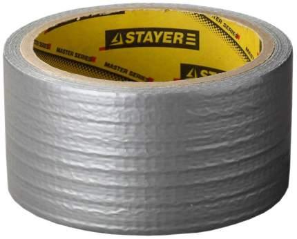 "Армированная лента Stayer ""MASTER"", универсальная, влагостойкая, 48мм х 10м, серебристая"