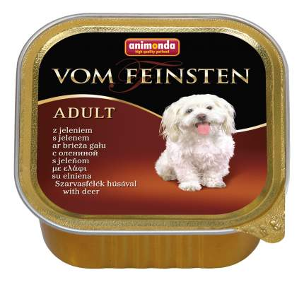 Консервы для собак Animonda Vom Feinsten Adult,  с олениной 150г