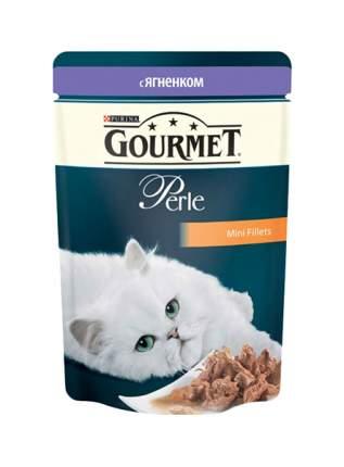 Влажный корм для кошек Gourmet Perle, ягненок, 85г