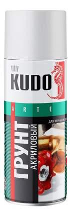 Грунт универсальный акриловый серый KUDO ,520 мл