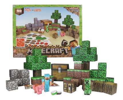 Аппликация из бумаги 1TOY Minecraft. Deluxe Pack