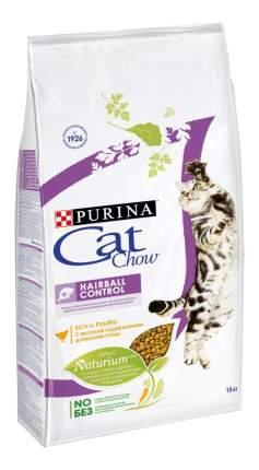 Сухой корм для кошек Cat Chow Special Care Hairball, для выведения шерсти, птица, 15кг