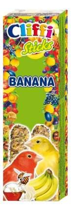 Лакомства для птиц Cliffi для канареек, палочки с бананом и медом, 60г