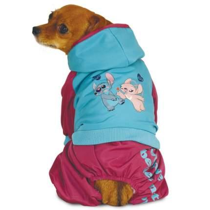 Комбинезон для собак Triol Stitch размер L унисекс, синий, красный, длина спины 35 см