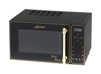 Микроволновая печь с грилем и конвекцией Kaiser M 2500 BE black/gold