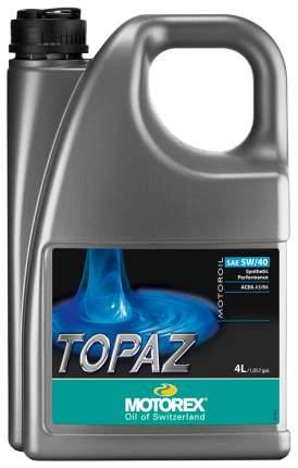 Моторное масло Motorex Topaz 5w40 4л 303351
