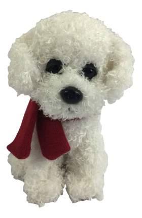 Мягкая игрушка Teddy Собака с шарфиком, 16 см