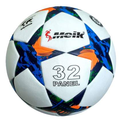 Футбольный мяч Meik 098 R18028 №5 white/blue